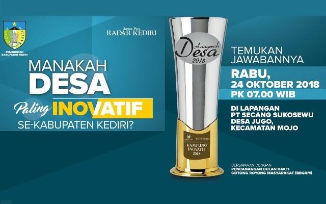 Pemenang 12 Kategori Inovasi Siap Diumumkan