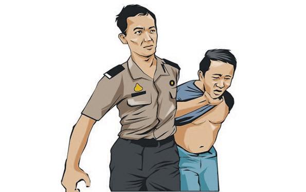 Pelat Nomor Motor Dikenali, Akhirnya Penjambret Ditangkap Polisi
