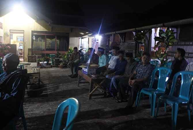 Suasana rumah Bambang Rozali Usman, korban asal Kudus.