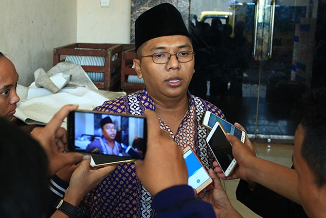 A. Mustain Saleh  Ketua Panwaslu Bangkalan