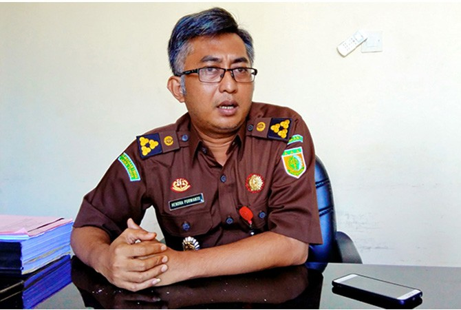 Hendra Purwanto  Kasipidsus Kejari Bangkalan