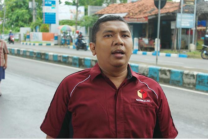 A. Mustain Saleh  Ketua Bawaslu Bangkalan