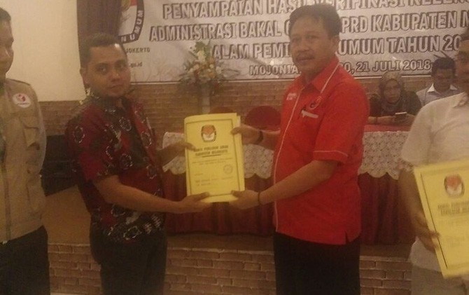 Dari 547 Bacaleg yang berasal dari 15 Parpol dan telah mendaftar di KPU, tak satu pun yang sudah memenuhi syarat.
