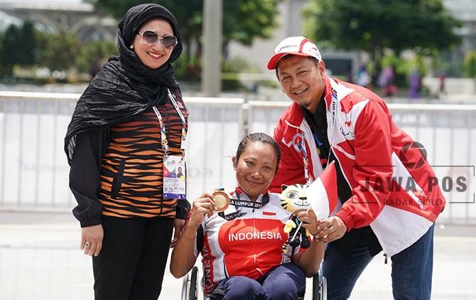 Ni Kadek Karyadewi, atlet para cycling andalan NPC Indonesia.