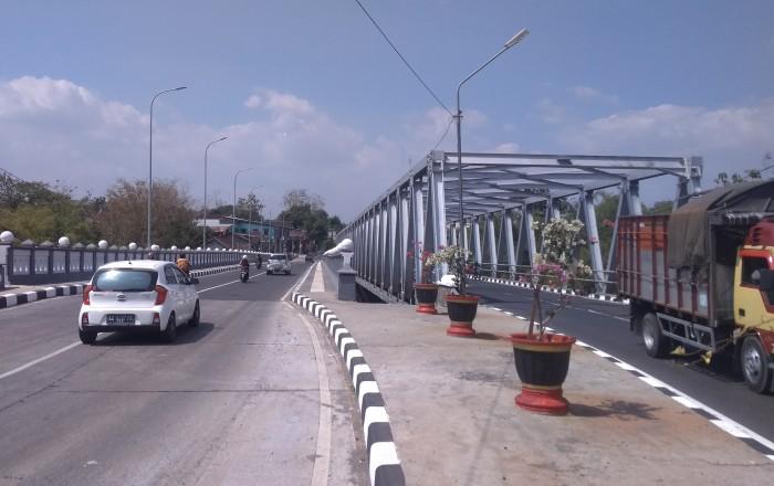 Ruas jalan Wonogiri-Ngadirojo
