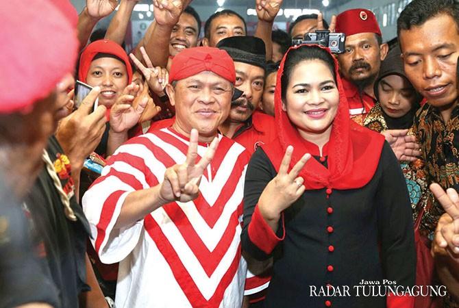 Mayoritas Pemilih Jokowi Coblos Gus Ipul-Mbak Puti