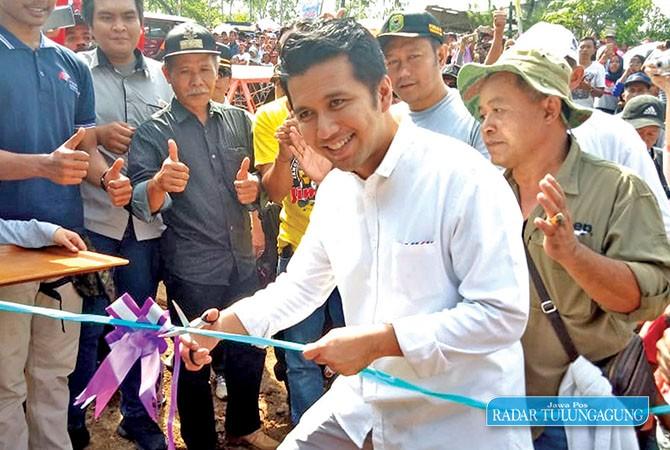ADVENTURE SPORT : Offroad Tourism Taman Wisata Goa Ngerit yang resmi dibuka oleh Bupati Trenggalek Emil Dardak.