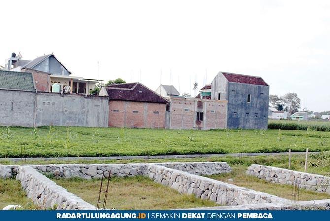 BIDANG TANAH: Area persawahan dan pemukiman jika belum bersertifikat bisa mengikuti Program PTSL.