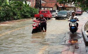 Diguyur Hujan dan Angin,  Sejumlah Kawasan di Badung Terendam
