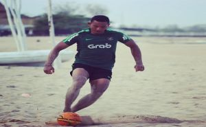 Anggota Sat Brimob Polda Bali Perkuat Timnas AFF Beach Soccer 2018
