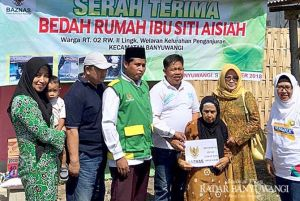 Dibedah Baznas, Rumah Mbah Siti Kini Jadi Layak Huni