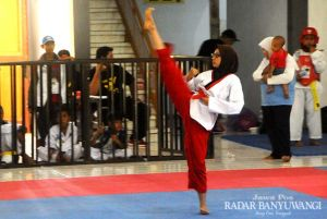 Pantau Regenerasi Atlet, Begini yang Dilakukan Taekwondo Banyuwangi