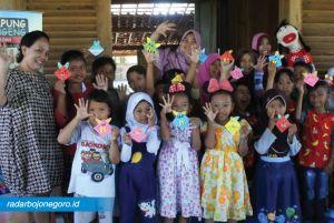 Rita Oktaviana, Pemrakarsa Taman Baca dan Budaya di Cepu