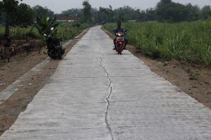 Proyek PISEW Amburadul, Pemdes Brodot Angkat Tangan
