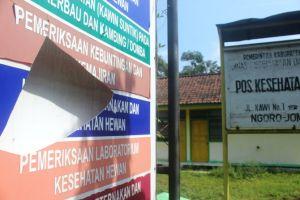 Gedung Pos Kesehatan Hewan di Kecamatan Ngoro Mangkrak