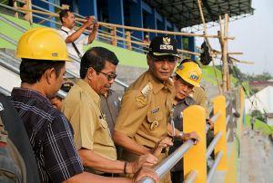 Penjelasan Bupati Soal Penyebab Ambrolnya Atap Stadion Wergu