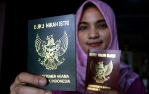 Kartu Nikah Mirip ATM, Mampu Baca Status Calon Suami