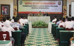 Hukum Pelajar Bolos, Kepala  Satpol PP Himbau Hindari Sanksi Fisik
