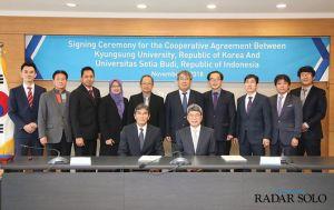 USB dan Kyungsung University of Korea Tandatangani MoU