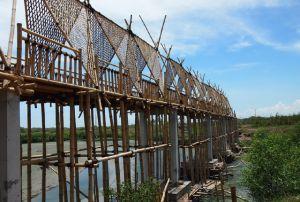 Semakin Cantik dengan Adanya Jembatan Bambu
