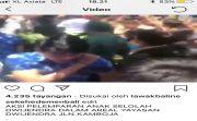 VIRAL! Video Ratusan Siswa Lempari Ketua Pembina Yayasan Dwijendra