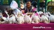 Stok Daging Ayam-Sapi Aman hingga Lebaran