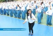 519 Siswa SMAN 4 Tuban Flash Mob
