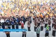 Ribuan Siswa Viralkan Goyang Dayung