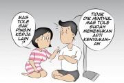 Suami Lebih Nyaman Jadi Buruh Tani