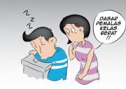Kesalnya Punya Suami yang Kecanduan Ngelayap saat Bekerja