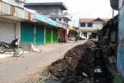 Drainase untuk Kurangi Banjir di Pasar Pandaan Mulai Dibangun