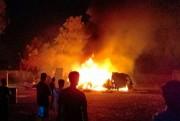 Gara-gara Sampah, 4 Boks Truk Terbakar di Wonorejo