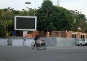 Proyek Pembangunan Toilet Alun Alun Kota Pasuruan Disoal