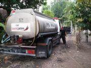 BPBD Jombang Tetap Dropping Air Bersih Meski Sudah Hujan
