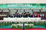 IAI Pangeran Diponegoro Gelar Wisuda ke-VIII di GOR Bung Karno