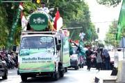 Ratusan Kendaraan Ikuti Pawai dan Parade Bedug