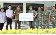 BRI Kanca Rembang Salurkan CSR untuk Renovasi Masjid Kodim