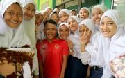 Disambut Antusias, Peraih Perak Asian Para Games Beri Motivasi Siswa