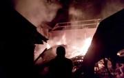Korsleting Listrik, Kebakaran Hanguskan Rumah Senilai Ratusan Juta