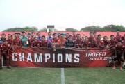 Lewat Tos Koin, Persipa Jadi Juara Turnamen Trofeo Bupati Jepara
