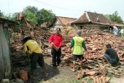 Puting Beliung Hancurkan Delapan Rumah, Kerugian Ditaksir Ratusan Juta
