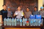 Razia Miras, Polisi Sita 990 Liter Arjo