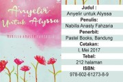 Alyssa dan Persoalan Hidup yang Bertubi