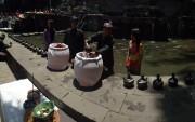 Ritual Manunggaling Tirta Suci di Petirtaan Jolotundo