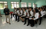 Diajak Asah Kepribadian, Table Manner dan Publik Speaking
