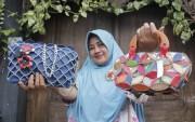 Tas Custom Berbahan Limbah Sepatu, Diminati Pasar Malaysia
