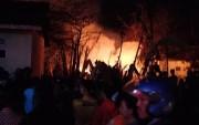 Api Hanguskan Gudang Kayu, Korban Alami Kerugian Rp 100 Juta