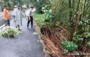 Jalan Karangpandan-Mojogedang Nyaris Putus