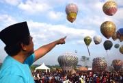 Festival Balon Udara Jadi Agenda Tahunan Wonosobo