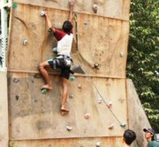 Seleksi Pelajar untuk Kejurprov Panjang Tebing
